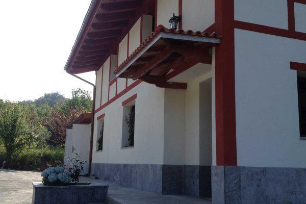 reforma entrada caserio alaya alaya taldea arquitectura arrasate