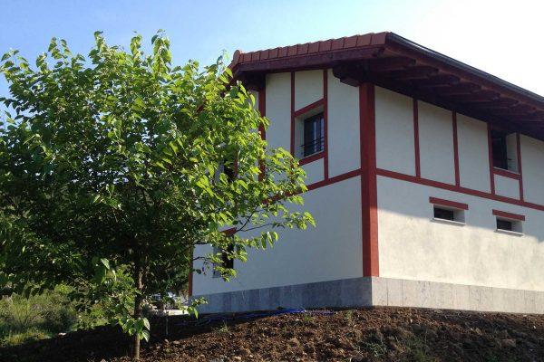 reforma fachada caserio alaya alaya taldea arquitectura mondragon